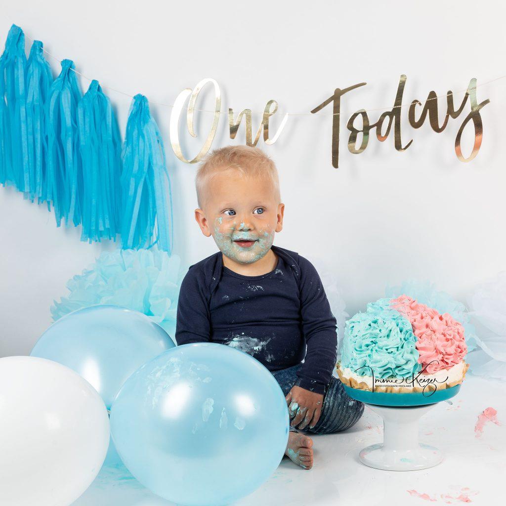 Baby zijn 1e verjaardag