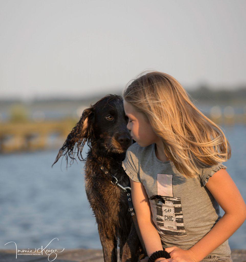 kind en hond fotoshoot keizerfotografie