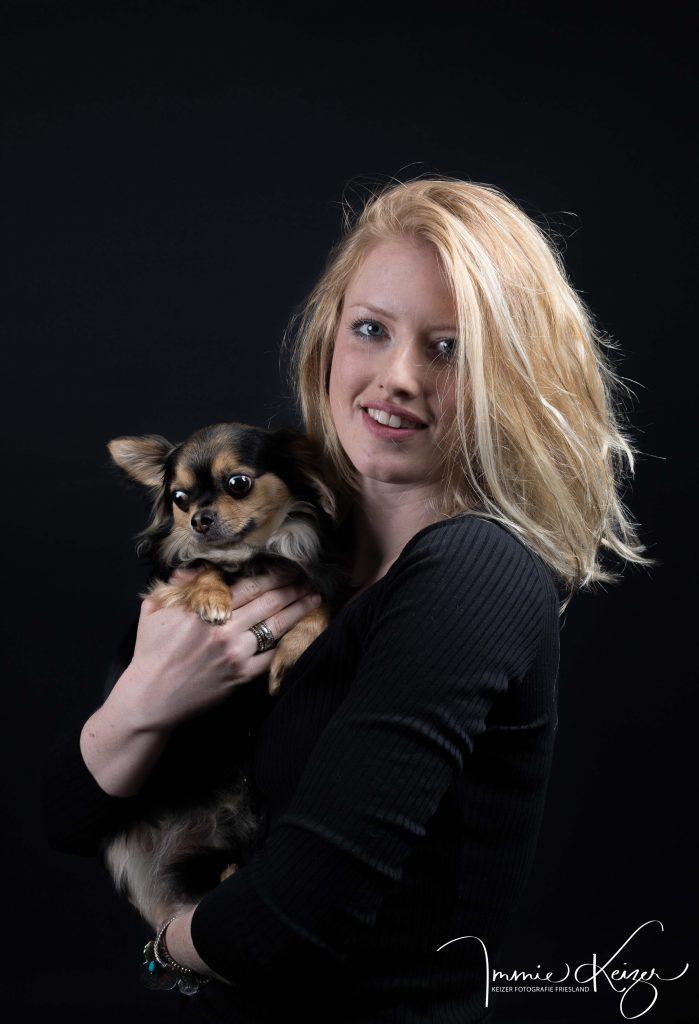 Blackfoto baas en hond keizerfotografie
